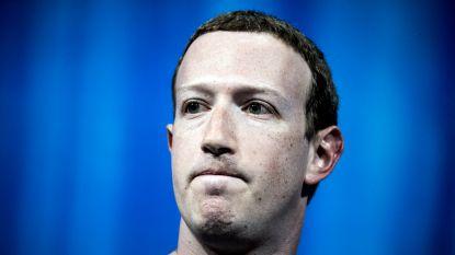 Facebookaandheelhouders willen Zuckerberg weg als voorzitter van raad van bestuur