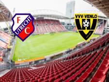 FC Utrecht - VVV-Venlo