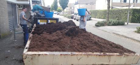 Volle vrachtwagen potgrond in hennepflat Oss: 'Jezus, komt dit allemaal uit dat kleine appartement?'
