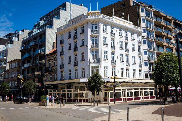 Zo ziet het gebouw Mon Bijou er vandaag uit.
