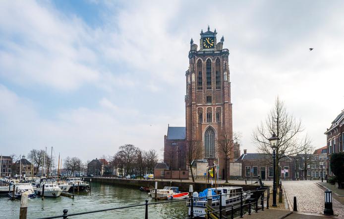 De Grote Kerk in Dordrecht. Foto ter illustratie.