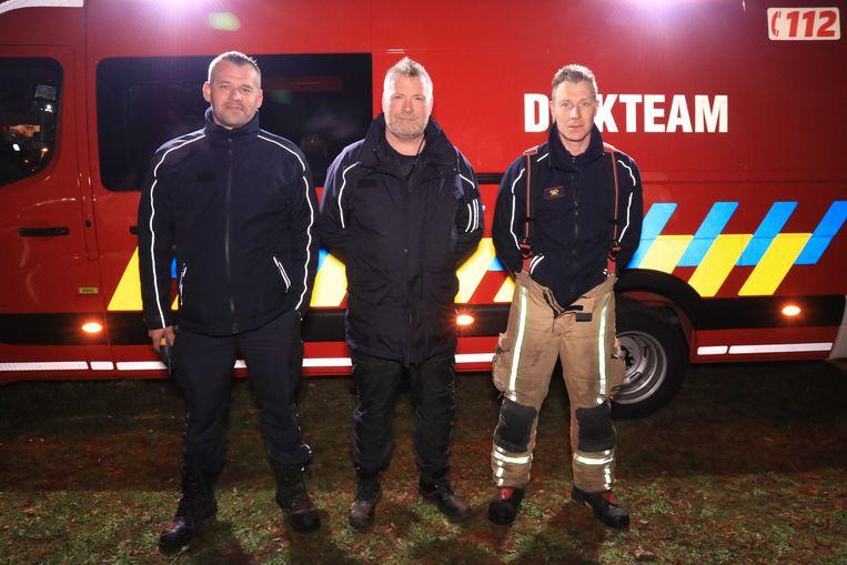 David De Rop en Marc De Cauwer zullen vanaf 1 januari samen de leiding over het duikteam overnemen.