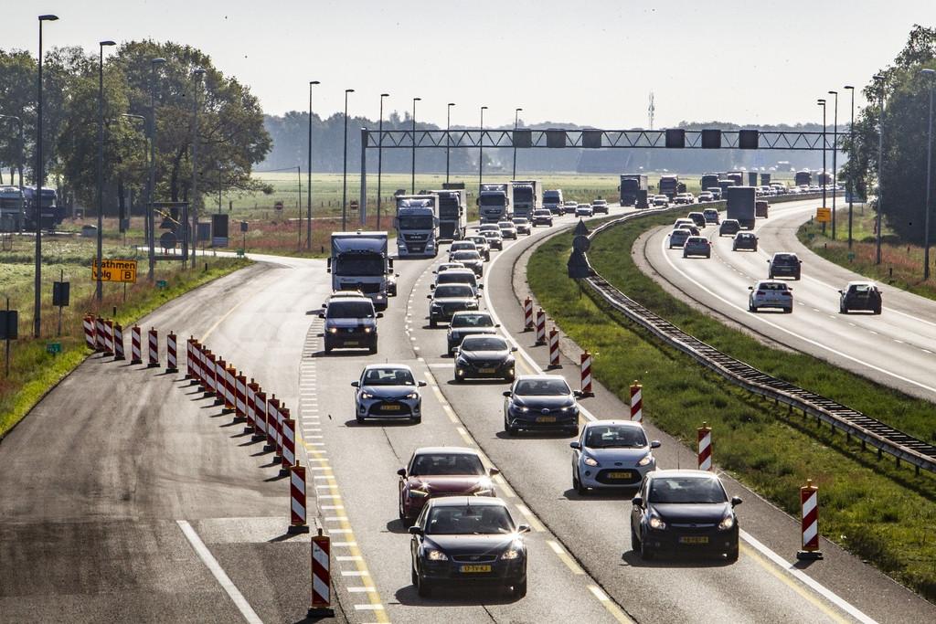 De A1-afritten Deventer-Oost en Lochem zijn komend weekend dicht.