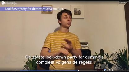 "Wingene strikt pakt uit met dj-set via Facebook: ""Lockdownparty For Dummies"""