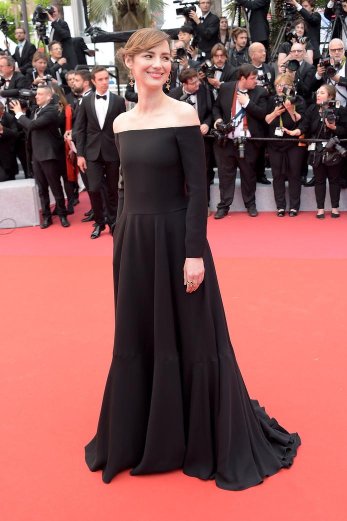 Louise à Cannes cette année.