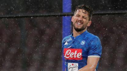 Napoli de boot in tegen Atalanta, ondanks knappe goal van Dries Mertens