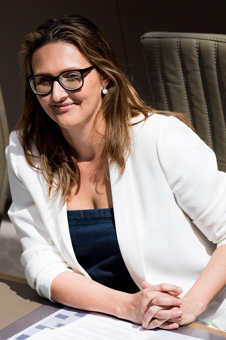 Open Vld-voorzitster Gwendolyn Rutten hamerde de afgelopen maanden meermaals op het belang van meertaligheid.
