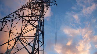 1.500 gezinnen uurtje zonder stroom