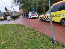 Groep fietsers raakt verstrengeld: 1 gewonde