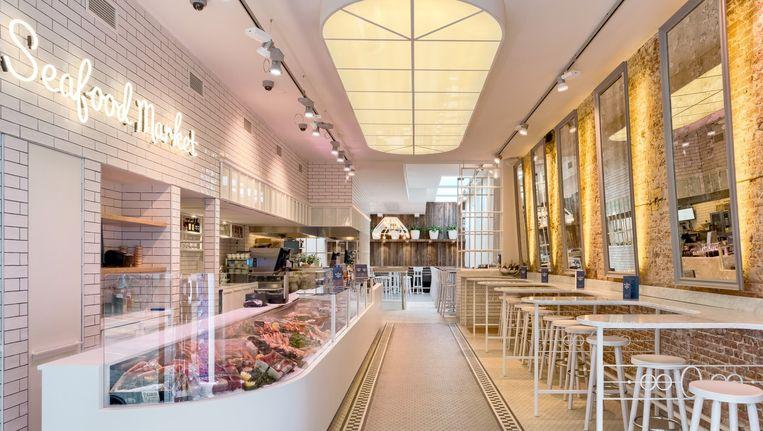 De derde vestiging van de Seafood Bar aan de Ferdinand Bolstraat. Beeld -