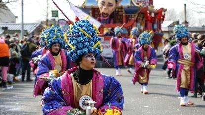 FOTO: Koppen lopen voor 63ste Wuitensfeesten in Hamme