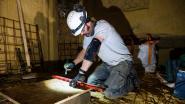 Mergelgemeente past nieuwe techniek toe tegen verzakkingen van woningen bovenop een groeve