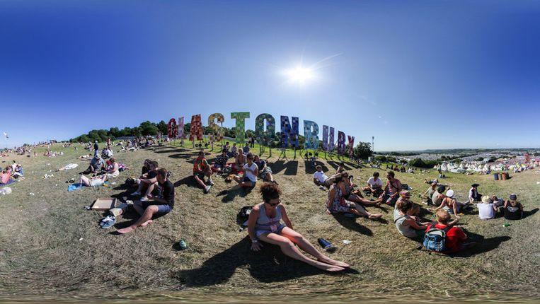 Het Engelse Glastonburyfestival verkoopt 170.000 kaarten binnen 2 uur uit. Beeld getty