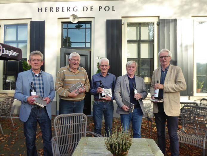 De winnaars voor Herberg De Pol in Diepenheim.
