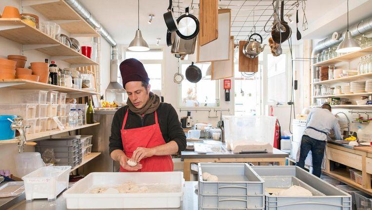 Dit jaar openden bijvoorbeeld klimhal Het Lab, bakkerij Baking Lab en de kappersstoel Hair Lab in cosmeticawinkel Lush Beeld Charlotte Odijk