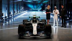 """Dit is het nieuwe wapen van Mercedes, al is teambaas Wolff niet onder de indruk van halo: """"Geef me een kettingzaag en ik haal die er meteen weer af"""""""