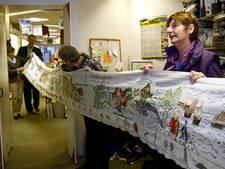 Zestig meter lang borduurwerk verhuist naar museum