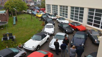 Tachtig oldtimers verzamelen in Ronse