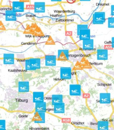 Hier kun je nog veilig zwemmen in Midden-Brabant