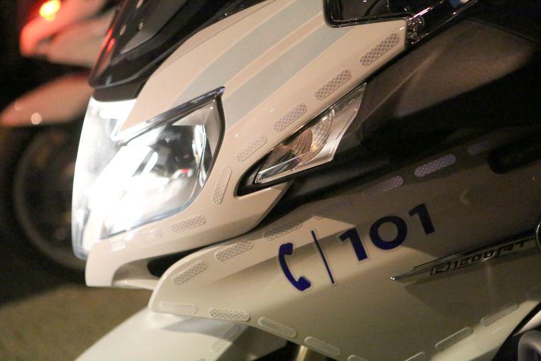 Politie haalde de bromfietser uit het verkeer in de Leuvensestraat