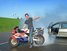 Laatste ritje komt stuntman Rico duur te staan: 'Tja, de politie kan niet blijven waarschuwen'