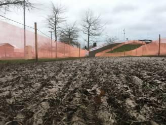 Parcours WB veldrijden in Nommay kreunt onder aanhoudende regen, maar houdt (voorlopig) stand