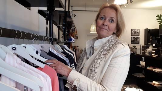 Elly van Straaten van winkel Cape Cod in Nijmegen.