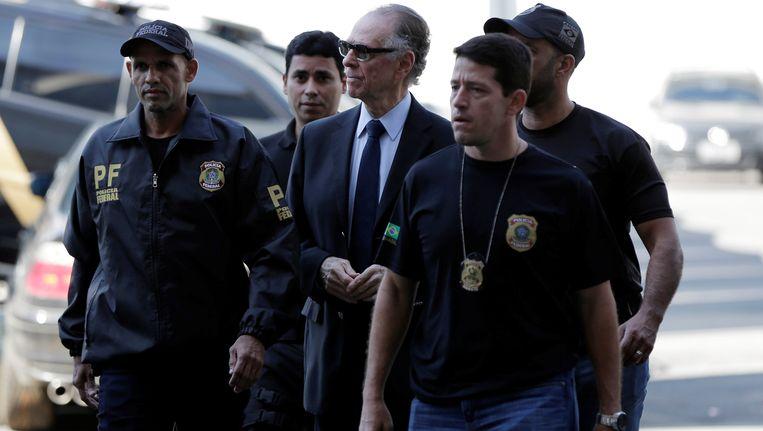 Carlos Nuzman werd gisteren gearresteerd.
