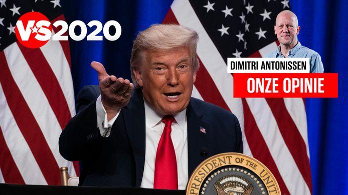 Hoewel het voor de meeste politieke peilers een uitgemaakte zaak lijkt dat Trump de risee wordt en op 3 november verliest, zou dat wel eens een veel te snelle conclusie kunnen zijn, schrijft hoofdredacteur Dimitri Antonissen.