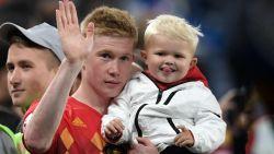 Kevin De Bruyne verwacht opnieuw een zoontje