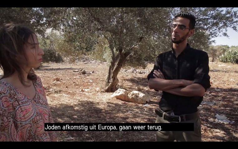 Een moeilijk gesprek met een lid van Islamic Jihad Beeld