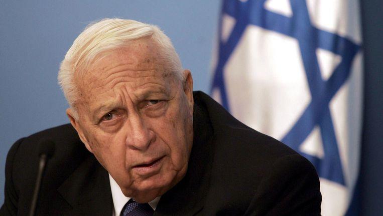 Ariel Sharon in 2005 Beeld afp