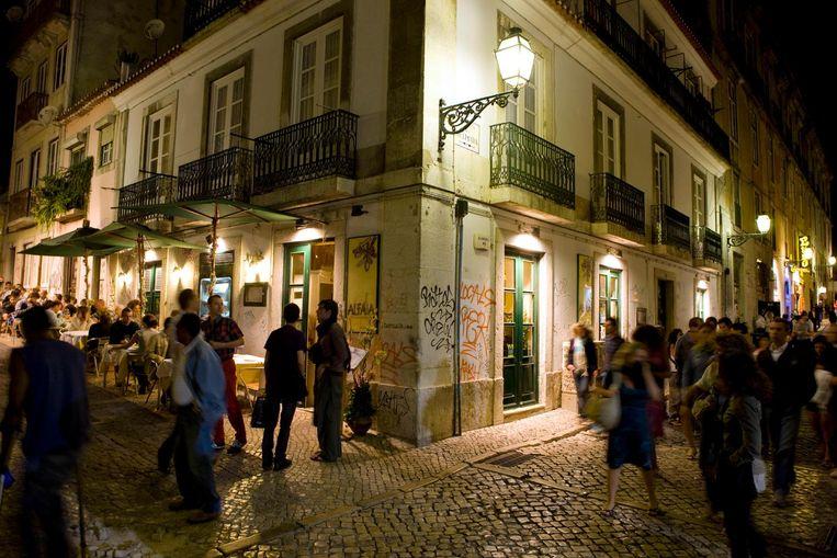 'Lissabon is prachtig omdat het zo'n nostalgische stad is. Het is bijna niet meer Europa, een planeet van zichzelf.' Beeld getty