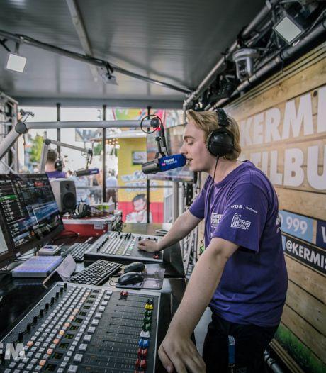Ook Kermis FM ontbreekt niet op kermis in Tilburg: 'Er is een kermis, dat is al winst'