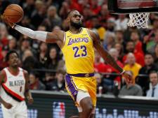 James verliest eerste NBA-duel met LA Lakers