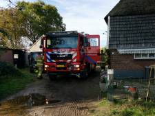 Brandweer moet afgebrande schuur dag later nog een keer blussen in Bennekom