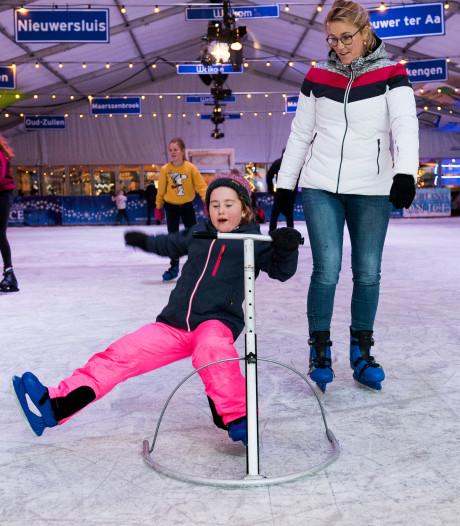 Schaatsbaan in Maarssen is weer open en gaat dit jaar voor record