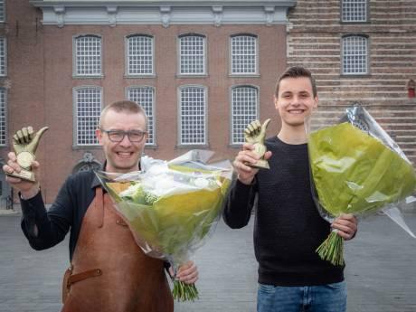 Marc Visser en Arne Ruis zijn de horeca- en winkelheld van Goes