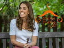 Kate Middleton kiest voor informeel en is gespot op witte gympen in het park
