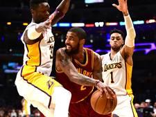 VIDEO: Irving leidt Cavaliers met eindsprint langs Lakers
