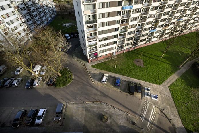 Martin Bertrums woonde in een flat in Hintham, maar moest zijn woning verlaten vanwege bezuinigingen.