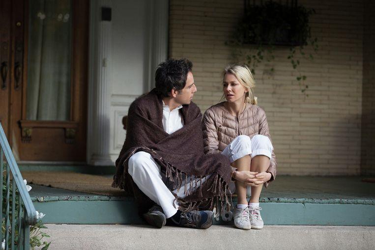 Ben Stiller en Naomi Watts in While We're Young. Beeld null