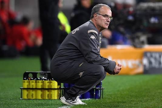 Marcelo Bielsa, de excentrieke coach van Leeds United.