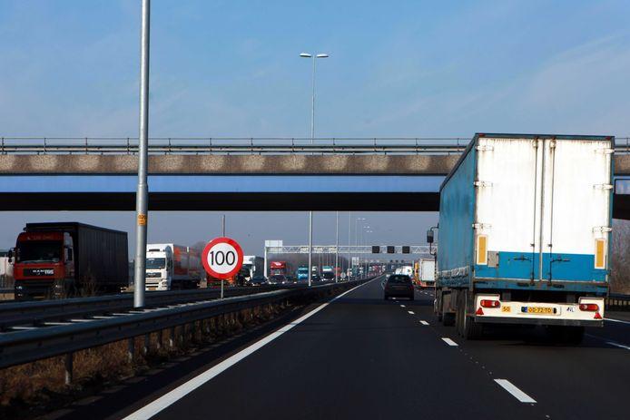 De snelweg A50 op archiefbeeld, foto ter illustratie.