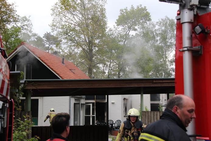 De brand in een vakantiewoning in Holten