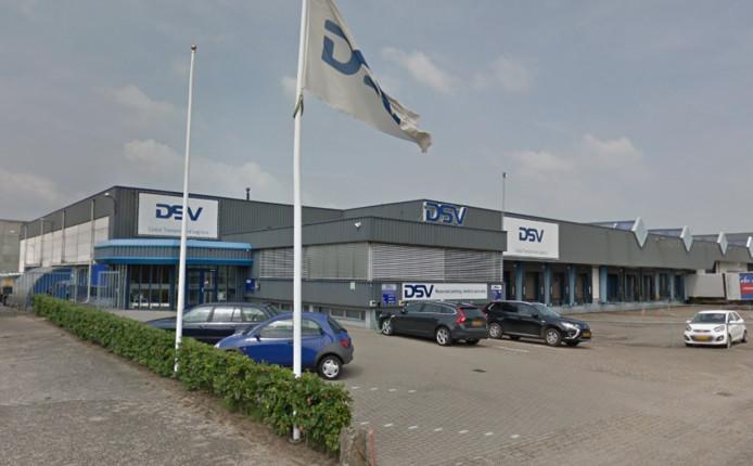 Het pand van DSV aan de Industriestraat in 's-Heerenberg.