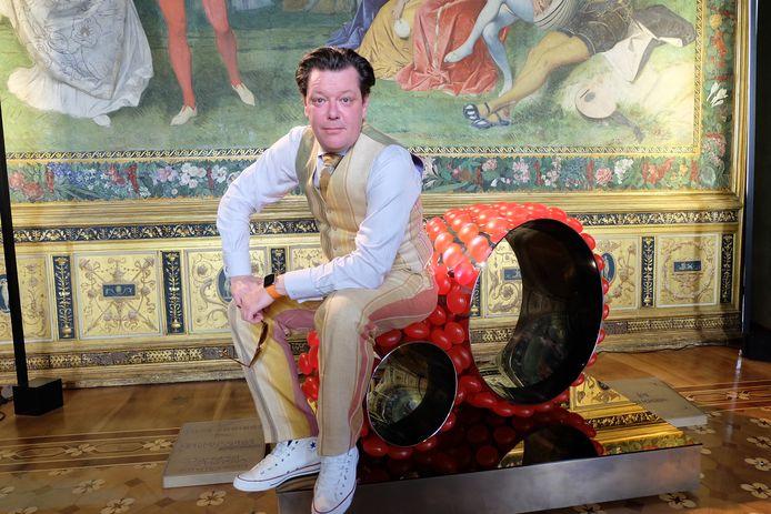 Thed Konings op het Nederlands Paviljoen