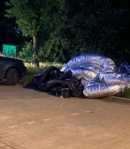 Drugsafval gedumpt op carpoolplaats in Deventer