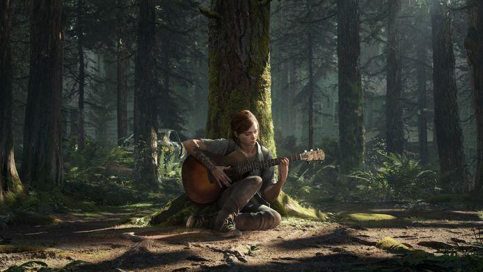 Hoofdpersonage Ellie in 'The Last of Us Part II'.