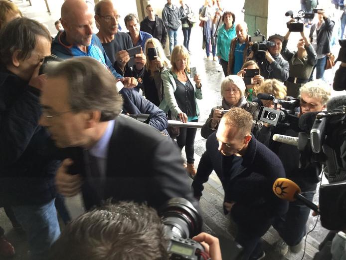 De zitting vond plaats bij de rechtbank in Arnhem.